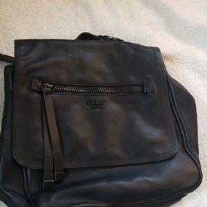 Nice   Leather book bag